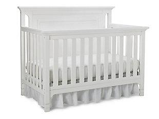 Ti Amo Royalton 4-in-1 Convertible Crib, White, large