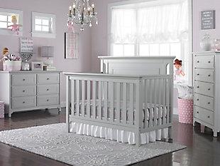 Ti Amo Royalton 4-in-1 Convertible Crib, Gray, large