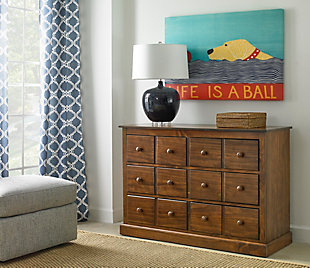Fisher-Price Signature 6 Drawer Double Dresser, , rollover