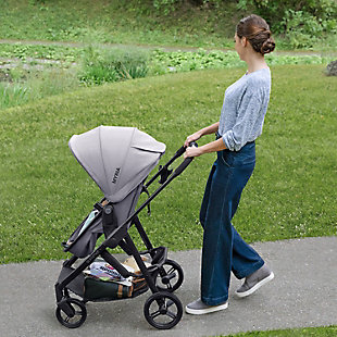 Summer Infant Myria Modular Stroller, Onyx Black, , rollover