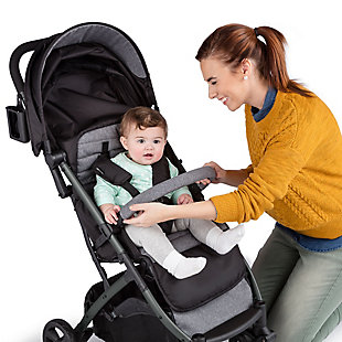 Summer Infant 3Dpac CS+ Compact Fold Stroller, Ash Gray, , rollover