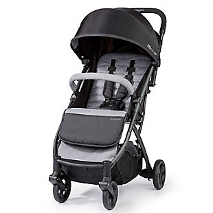 Summer Infant 3Dpac CS+ Compact Fold Stroller, Ash Gray, , large
