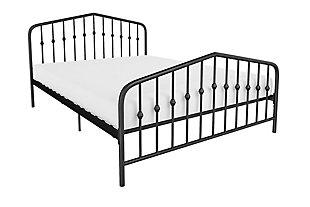 Bushwick  Full Metal Bed, , large
