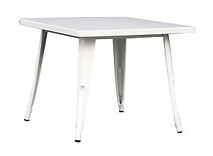 Ace Casual Kids Metal Activty Table, White, , large