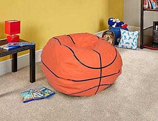 Ace Casual Medium Vinyl Basketball Bean Bag, , rollover