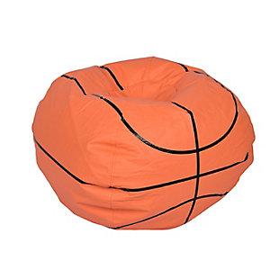 Ace Casual Medium Vinyl Basketball Bean Bag, , large