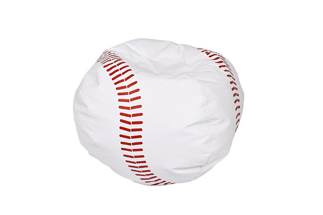 Ace Casual Medium Vinyl Base Ball Bean Bag Baseball, , large