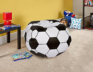 Ace Casual Medium Vinyl Soccerball Bean Bag, , rollover
