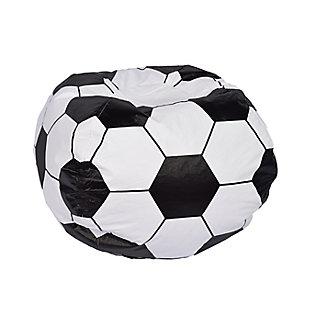 Ace Casual Medium Vinyl Soccerball Bean Bag, , large