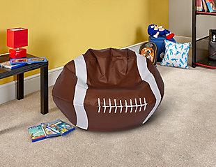 Ace Casual Medium Vinyl Football Bean Bag, , rollover