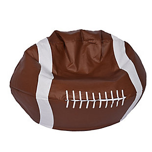 Ace Casual Medium Vinyl Football Bean Bag, , large