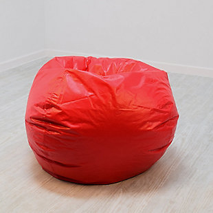 Ace Casual Large Vinyl Bean Bag, Red, Red, rollover