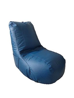 ACEssentials Video Bean Bag Ergonomic Chair, Blue, Blue, large