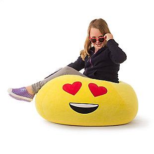 GoMoji Emoji Bean Bag Heart Eyes, , rollover