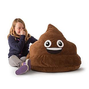 GoMoji Emoji Bean Bag Poopsie, , rollover
