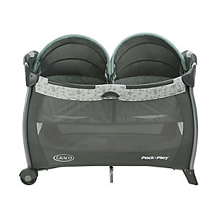 Graco  Pack 'n Play Playard with Twins Bassinet, Oskar, , rollover