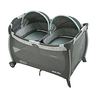 Graco  Pack 'n Play Playard with Twins Bassinet, Oskar, , large