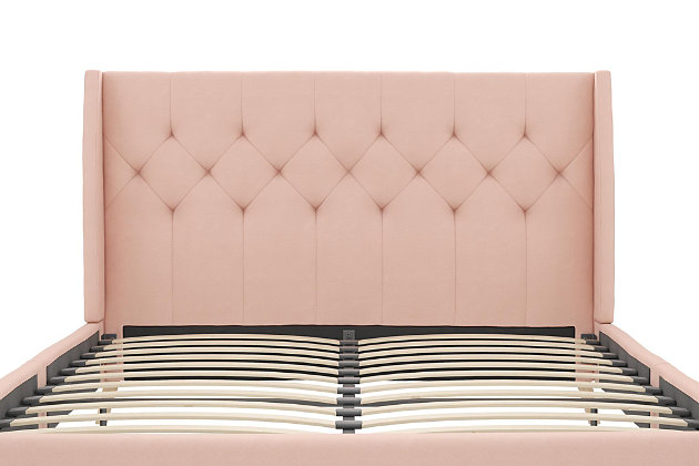 Her Majesty  Queen Bed, Pink, large