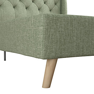 Her Majesty  Full Bed, Light Green, large