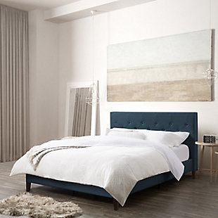 CorLiving Queen Tufted Upholstered Bed, , rollover