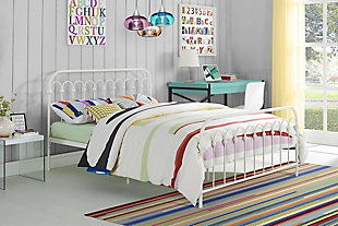 Dorel Home Products Bright Pop Metal Full Bed, , rollover