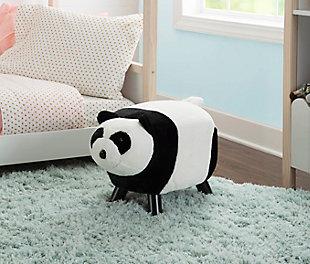 Powell Reese Panda Bear Stool, , rollover