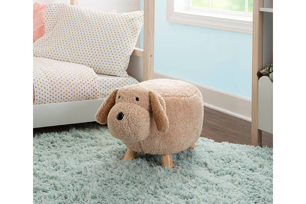 Powell Moxie Puppy Dog Stool, , large
