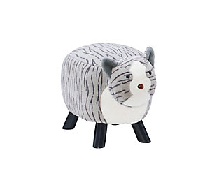 Powell Scout Tabby Cat Stool, , large