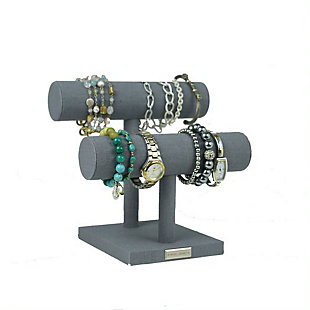 Modern Bracelet Bar, Gray, large