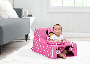 Delta Children Disney Minnie Mouse Sit N Play Portable Activity Seat, , rollover