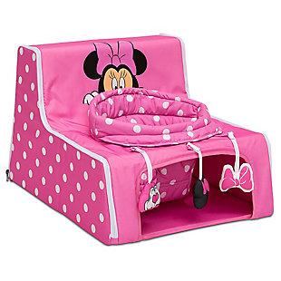 Delta Children Disney Minnie Mouse Sit N Play Portable Activity Seat, , large
