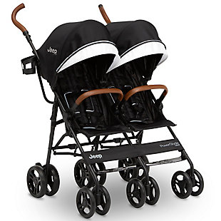 Jeep PowerGlyde Plus Side x Side Double Stroller, , large