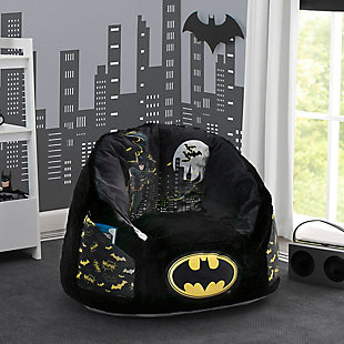 Delta Children BatmanCozee Fluffy Chair, Kid Size, , rollover