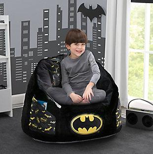 Delta Children BatmanCozee Fluffy Chair, Kid Size, , large
