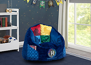 Delta Children Harry Potter Cozee Fluffy Chair, Kid Size, , rollover