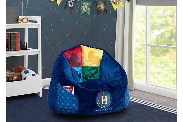 Delta Children Harry Potter Cozee Fluffy Chair, Kid Size, , large