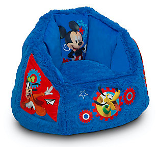 Delta Children Disney Mickey Mouse Cozee Fluffy Chair, Toddler Size, , large