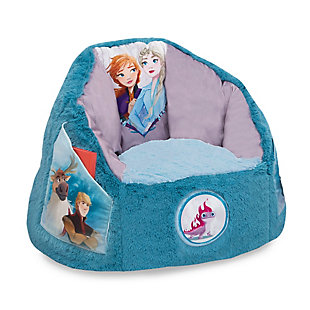 Delta Children Disney Frozen Cozee Fluffy Chair, Toddler Size, , large