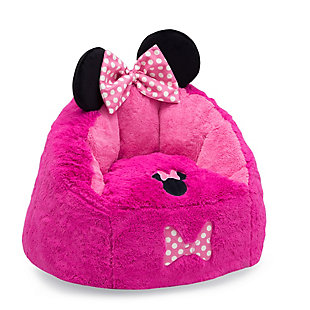 Delta Children Disney Minnie Mouse Cozee Figural Chair, Toddler Size, , large