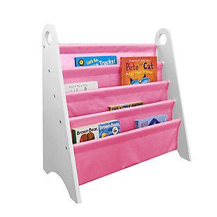 Wildkin Modern Sling Bookshelf, Pink, large