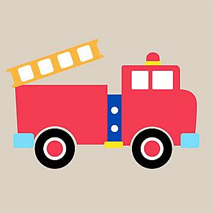 Wildkin Fire Truck Hamper, , large