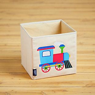 """Wildkin Train 10"""" Storage Cube, , rollover"""