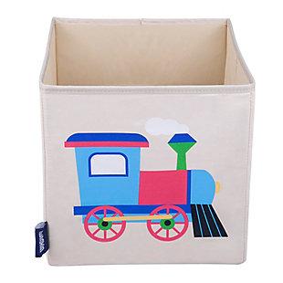"""Wildkin Train 10"""" Storage Cube, , large"""