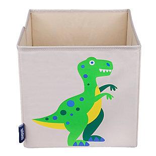 """Wildkin Dinosaur Land 10"""" Storage Cube, , large"""