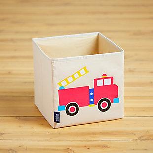"""Wildkin Fire Truck 10"""" Storage Cube, , rollover"""