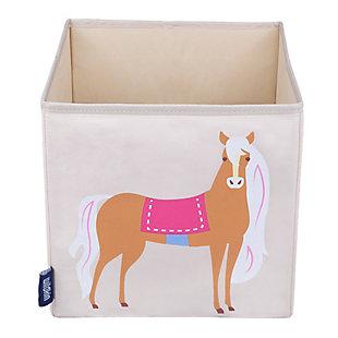 """Wildkin Horses 10"""" Storage Cube, , large"""