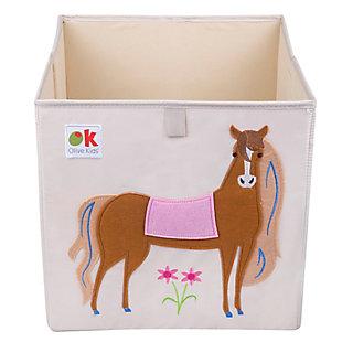 """Wildkin Horses 13"""" Storage Cube, , large"""