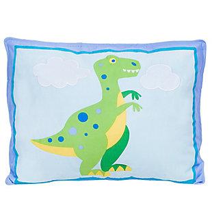 Wildkin Dinosaur Land Cotton Pillow Sham, , large