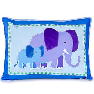 Wildkin Endangered Animals Cotton Pillow Sham, , large