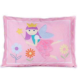 Wildkin Fairy Princess Cotton Pillow Sham, , rollover